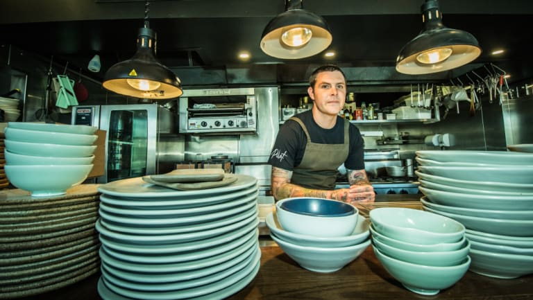 Chef Malcolm Hanslow brings a simplicity to his treatment of food.