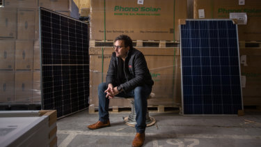 Dave Douglas of EverSolar says installation numbers have plummeted.