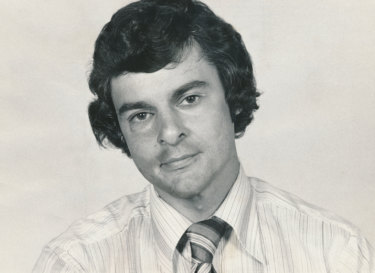 Young lion: Journalist Ben Hills in a staff photo for The Age in 1978.