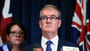 Former NSW Labor leader Michael Daley.