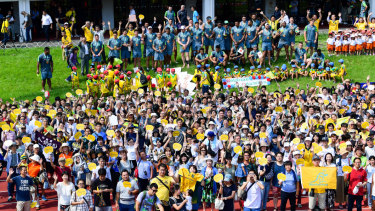 An opening training session this week attracted over 1000 locals in Odawara.