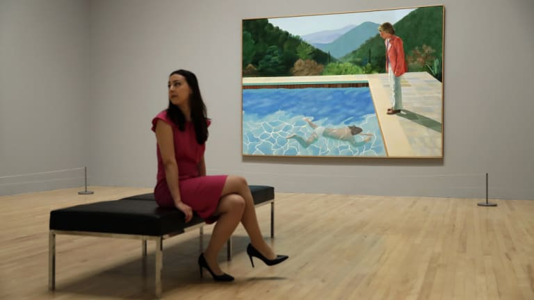 The price for the 1972 painting easily surpassed the previous high of $US58.4 million.