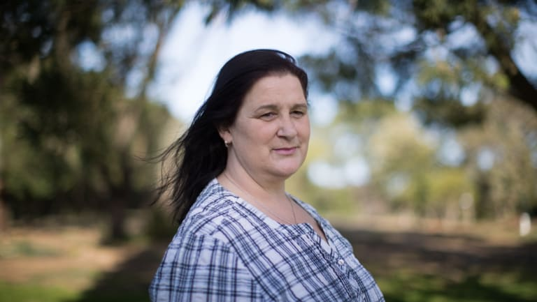 Tracey May wants her abuser identified, but the legal system is stopping her.