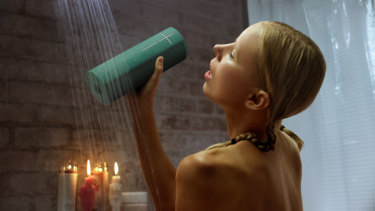 The speakers are totally waterproof, meaning singalongs in the pool, or even in the shower.