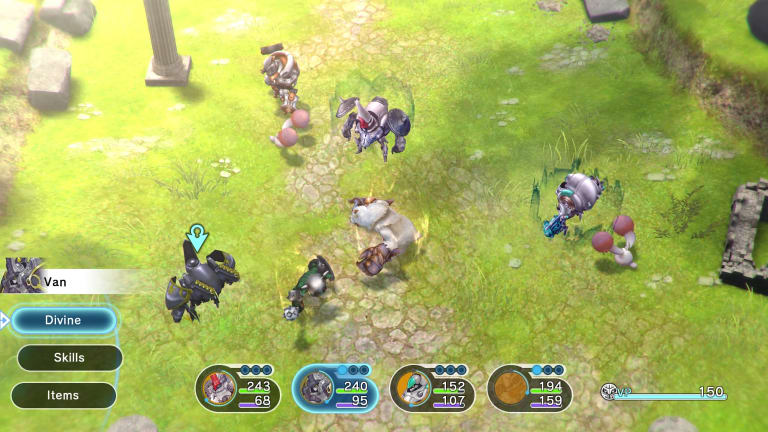 The battle system has some smart ideas, but focusing on one or two of them might have made for a less muddled game.