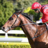 Son of a gun: Rule The World racing on Hallowed ground