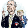 How Mitch McConnell went from Trump ally to enemy