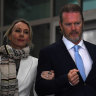 McLachlan told to apologise for grabbing actor by her face, court told
