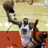 Golden State pip Rockets in NBA thriller