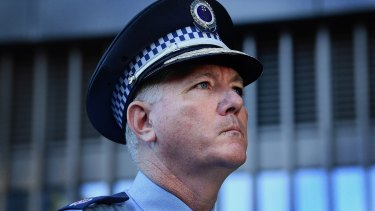 NSW Police Commissioner and State Emergency Operations Controller Mick Fuller.
