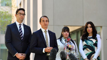Liberal MP Dave Sharma has advocated for the case since finishing as ambassador to Israel in 2017.