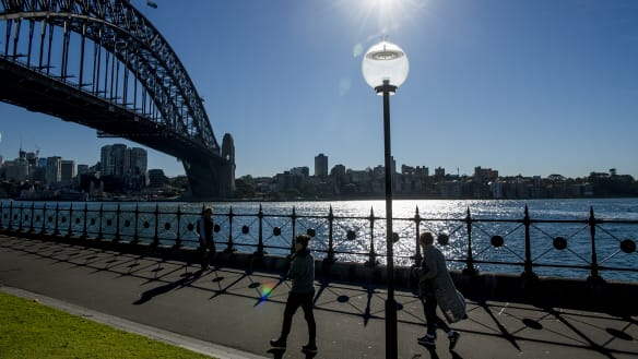 Good news, Sydney's sunny weather set to continue into the week