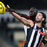 Pies down Swans but win comes at heavy cost