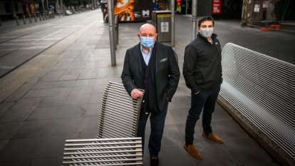 Trouble at the mall: Melbourne's prize shopping strip faces lean years