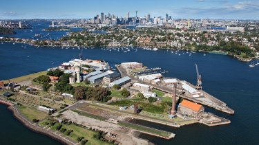 Cockatoo Island, which is managed by Sydney Harbour Federation Trust, will be turned into a major tourist drawcard.