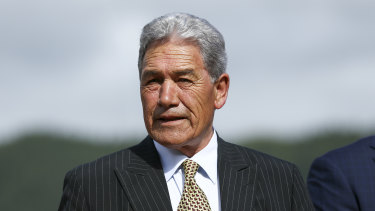 New Zealand's Foreign Minister Winston Peters.
