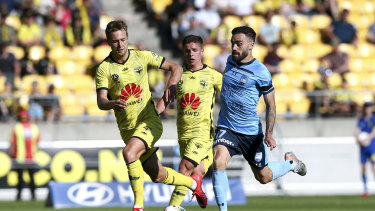 Sydney FC's match against Wellington will be the new re-opener.