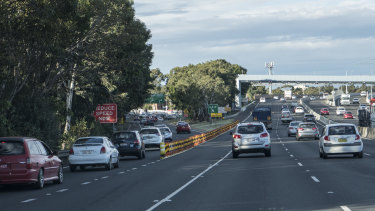 "The plastic barrier introduced at the black spot has led to fewer crashes, but the off-ramp is still regarded as a ""death trap""."