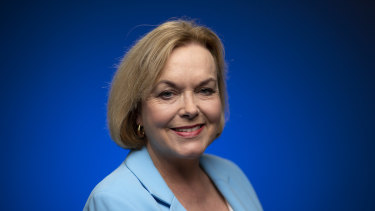 Judith Collins is the leader of the New Zealand National Party.