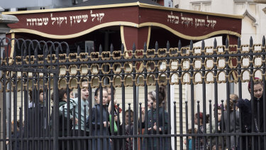The city health department ordered all ultra-Orthodox Jewish schools in a neighbourhood of Brooklyn to exclude unvaccinated students from classes during the outbreak.