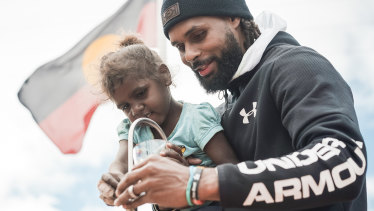 Australian NBA star Patty Mills has been a vocal social justice advocate.