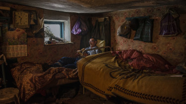 Grisa Muntean is the last survivor of Dobrusa, a village in Moldova that was first settled in the 19th century when the area was part of the Russian Empire.