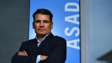 ASADA chief David Sharpe will lead Sport Integrity Australia.