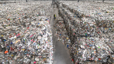 The market for recyclable materials has collapsed.
