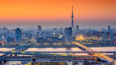 Greater Tokyo is the largest of Asia's megaregions.
