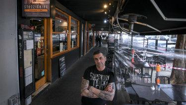 Angelo Gibaldi, owner of Stuzzichino on Lygon Street.