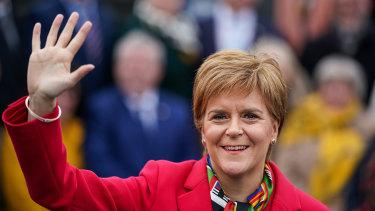 We'll be back, EU, says Scotland's First Minister Nicola Sturgeon.