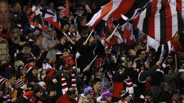 St Kilda fans.