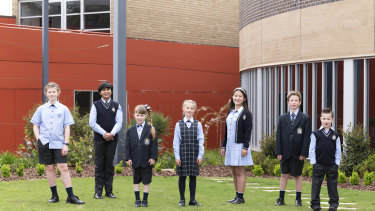 Caulfield Grammar School's new uniforms give students more choice.