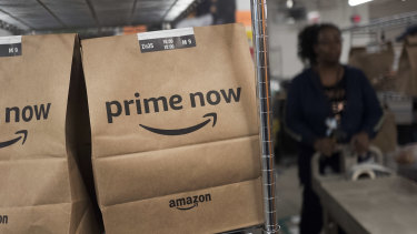 Amazon has hired extra staff as it struggles to meet demand during the coronavirus.
