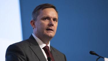 Suncorp CEO Steve Johnston.