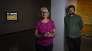 Bonita Ely and Nicholas Mangan are among the artists whose work has been unveiled at the MCA.
