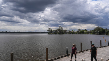 Lake Nagambie is among the attractions luring visitors to the area.