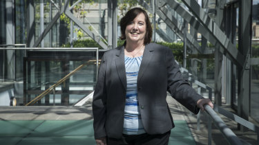 Genworth Australia chief executive Georgette Nicholas.