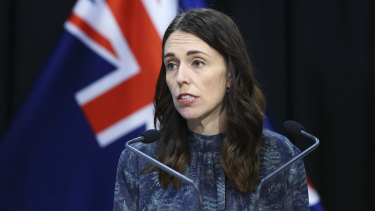 New Zealand Prime Minister Jacinda Ardern joined the national cabinet meeting on Tuesday.