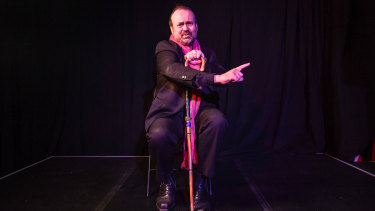 Comedian Frank Hampster says humour is the best way to communicate hard truths.