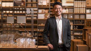 Muji Australia managing director Takeshi Fujimoto said people were coming around to the store.