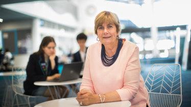 Elwood College principal Rhonda Holt has seen the school through significant academic growth.