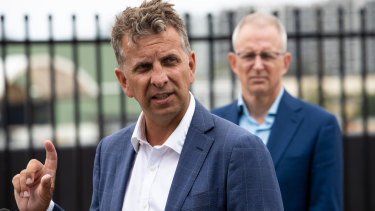 Transport and Roads Minister Andrew Constance.