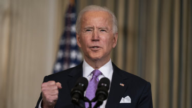'We need to be bold': US President Joe Biden.