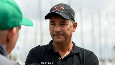 "Scallywag skipper David Witt has urged Sydney to Hobart organisers to ""have another think"" about a last-minute ruling, as smoke haze looks to threaten a critical part of the race."