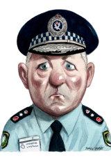 Police Commissioner Mick Fuller.