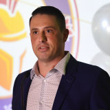 Rob Cavalucci headed up Brisbane City's bid to join the A-League.