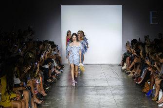 The Elliatt show at last year's Fashion Palette runway at New York Fashion Week.