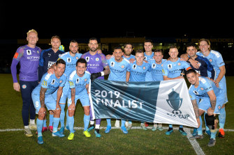 FFA Cup finalists Melbourne City are off to a good start under new coach Erick Mombaerts.