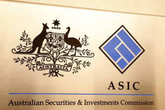 The evidence is that ASIC is policing its beat much more effectively.